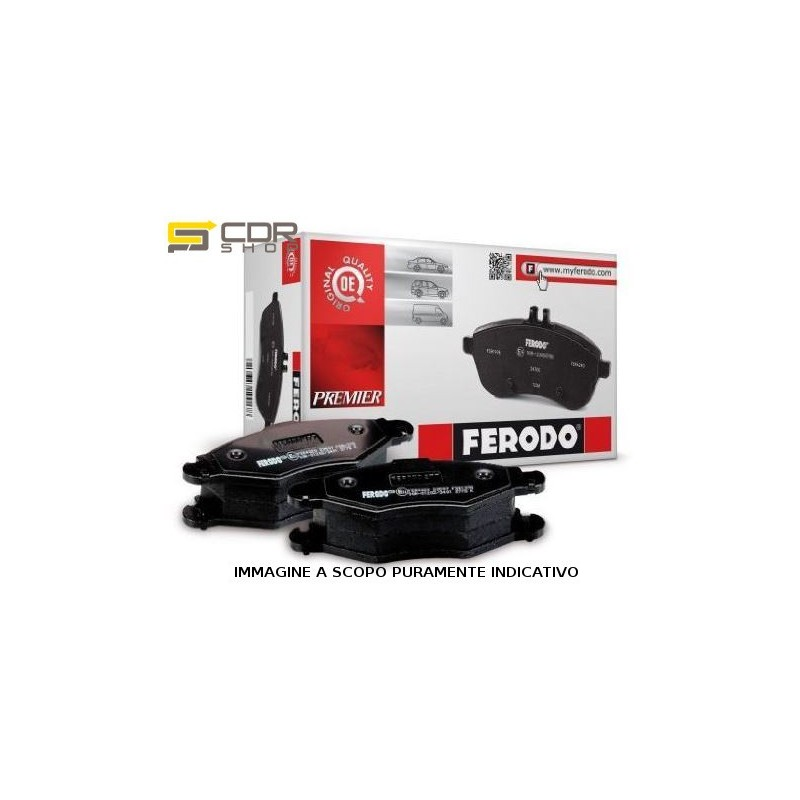 FDB1162 FERODO PASTIGLIE FRENO SMART CITY-COUPE -04
