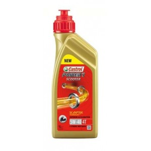 CASTROL POWER 1 SCOOTER 4T 5W-40 12lt. (12PZx1LT)  (14E962)