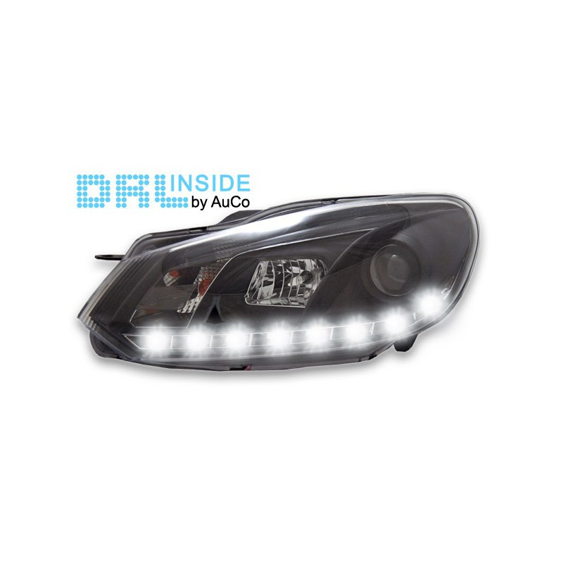 KIT FARI CON LUCI DIURNE VW GOLF VI 6 DAL 2008
