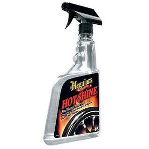 G-12024EU MEGUIARS LUCIDA GOMME CON SPRUZZATORE HOT SHINE - TIRE SPRAY 710 ml