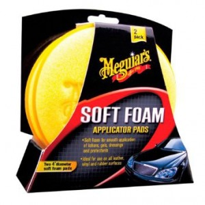 X-3070 MEGUIARS APPLICATORE HIGH TECH APPLICATION PAD 2 PEZZI