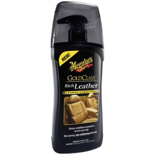 G-17914EU MEGUIARS TRATTAMENTO PELLE IN GEL RICH LEATHER CLEANER AND CONDITIONER 400ml