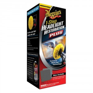 G-1900EU MEGUIARS KIT RINNOVA FANALI 1 STEP HEADLIGHT RESTORATION