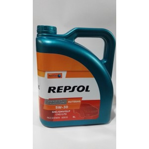 OLIO REPSOL AUTO GAS BIFUEL 5W30 5litri SPECIFICO PER GAS GPL E METANO