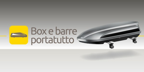 Box e barre portatutto